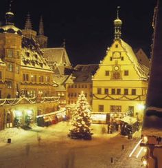 Rothenburg an Weihnachten, how perfect is Germany at Christmastime