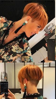 Pixie Hairstyles 411586853447368212 - 10 So Cute Easy Hairstyles for Short Hair Ohrringe, Quastenohrringe, Accessoires, Dame Source by elsaribeironaar Short Hair Styles Easy, Short Hair Cuts, Pixie Cuts, Short Pixie, Short Bob Hairstyles, Hairstyles Haircuts, Hairstyle Short, Hairstyle Ideas, Pixie Haircut