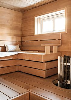 Modern Saunas, Sauna Design, Spa Rooms, Relaxation Room, Home And Living, Room Inspiration, Laundry Room, Interior Decorating, Room Decor