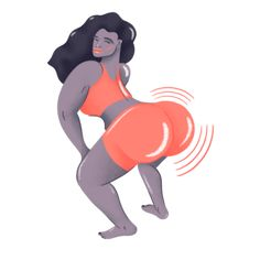 Illustration and design website for Josh McKenna. Vector based artist and designer work using asymmetric shapes in pleasing compositions using soft pastel colours. Art Sketches, Art Drawings, Twerk Dance, Badass Movie, Black Girl Cartoon, Black Art Painting, Fat Art, Funny Emoji, Black Women Art