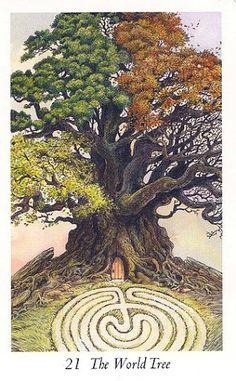 WildWood Tarot - XXI. The World Tree