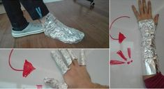 Cover Your Feet With Aluminum Foil For 1 Hour And You Will Treat Many Diseases! Skin Burns, Vicks Vaporub, Health Diet, Things To Know, The Cure, Healing, Shit Happens, Youtube, Cover