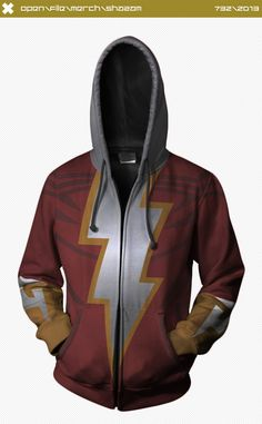 Young Justice Shazam Hoodie