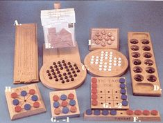 handmade wooden games - wooden board  games