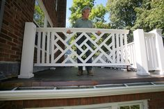 PVC chippendale railing | Building a Chinese Chippendale Balustrade | THISisCarpentry