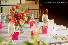 Wedding Reception Table Setting by www.Theo-Graphics.com, via Flickr