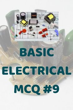 62 Best electrical MCQ images in 2019   Electrical Engineering