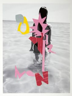 """""""Danzinger Gallery pairs the mysterious work of Inge Morath with the obfuscated collage of Enoc Perez... """""""