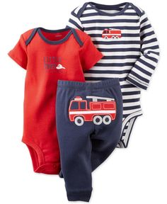 Carter's Baby Boys' 3-Piece Fire Truck Set