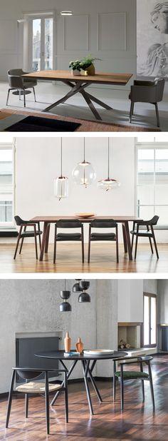 Ein paar schöne Esszimmer-Inspirationen mit modernen Designmöbeln haben wir in unserem Blogbeitrag zusammengestellt. #Tisch #Stuhl #Esstisch #Esszimmer #diningroom #table #chair #modern #zeitlos #Inspiration #Inneneinrichtung #wohnstil #wohntrend #home #einrichten #wohnen #interiordesign #interiordecorating #Möbel #Design #Livarea
