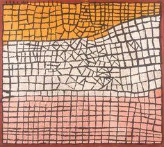 Walangkura Napanangka, 122 X 107 cm, Acrylic on linen, Papunya Tula Artists; Helen Read Collection.