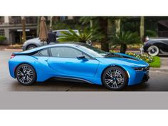 BMW i8 Coupe Electric Blue Automatic