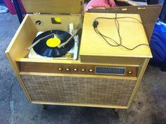 Vintage radiomeubel ~ Radio meubel vintage dingen van vroeger vintage