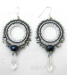 brick stitch earrings - Google Search