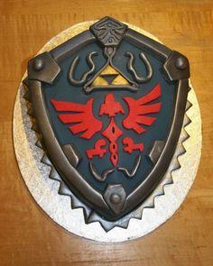 Hylian Shield Twilight Princess Design cakepins.com