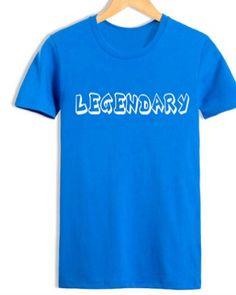 legendary t shirt mens League of Legends short sleeve t shirts-