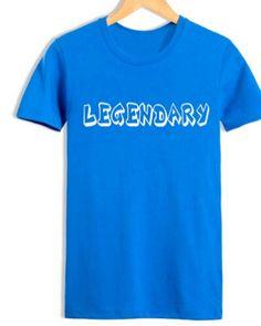 legendary t shirt mens League of Legends short sleeve t shirts-