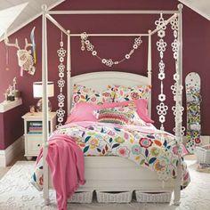 Enchanting Teenage Girl Bedroom Decoration