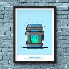 Collection of all 4 Shield Potions inspired by Fortnite. Select the size you would like the prints to be created in. This bundle contains Mini Shield, Shield Potion, Chug Jug and Slurp Juice prints. This collection of the Fortnite Consumable print bundle is available with the text