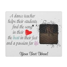 Love to Teach Dance Plaque by dancindarling