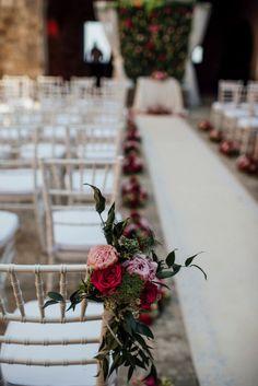 Ceremony Blooms / Jasmina & Noah's Croatian Wedding