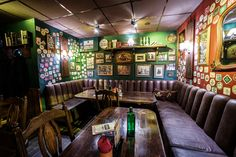 Rock 'N' Roll PUB - The weekend never ends here. Bar Interior Design, Pub Design, Exterior Design, Interior And Exterior, Irish Pub Interior, Garage Game Rooms, Pub Sheds, Irish Bar, Home Pub