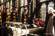 Harry Potter and the Chamber of Secrets - Publicity still of Daniel Radcliffe, Rupert Grint, Emma Watson, Devon Murray, Sean Biggerstaff & Gemma Jones