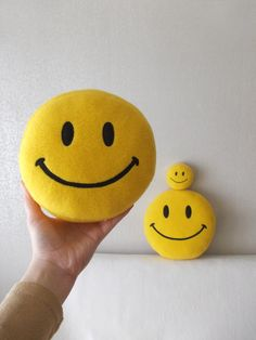 Stuffed Soft toy, Small toy, Smiley face by PillowsRollanda #Smileyfacetoy  #USAdelivery #internationaldelivery   $18.00 USD
