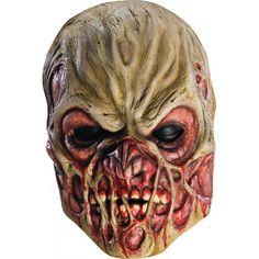 Masque en latex Zombie en transformation