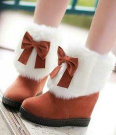fluff boots