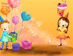 Make your kid happy by sending a beautiful wish on his birthday