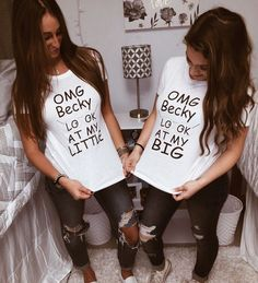 OMG Becky Look At My Little   Big and Little Theme Shirts  Alpha Phi UConn