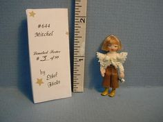 Ethel Hicks Doll - Mitchell #644 Limited edition 3 of 99 Dollhouse Miniatures