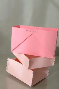 Sewn Paper Boxes