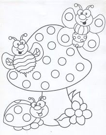 Q-Tip painting sheets Cute Coloring Pages, Printable Coloring Pages, Adult Coloring Pages, Coloring Pages For Kids, Coloring Sheets, Free Coloring, Coloring Books, Kids Coloring, Painting Sheets