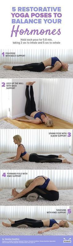 Have you noticed your hormones may be off-balance? Here is a relaxing yoga routine to help get you back on track. Get the full routine here: http://paleo.co/yogaforhormones