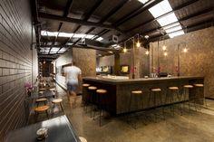 Cafeteria Code Black / Zwei Interiors Architecture