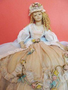 Lenci Boudoir Bed Doll Lady
