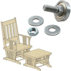 Simple Rocking Chair Plans Free - WoodWorking Projects & Plans