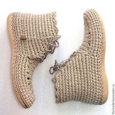 Crochet Shoes Pattern, Crochet Socks, Shoe Pattern, Knit Crochet, Crochet Patterns, Botas Boho, Shoe Crafts, Colorful Nail Designs, Flip Flop Sandals