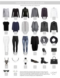 Light by Coco: Capsule Wardrobe A/W 15