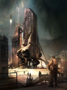 Philip k dick book cover by Sparth