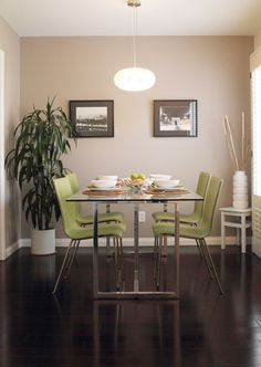 Possible dining room paint color: Sherwin Williams 'Perfect Greige'