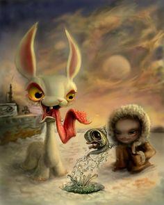 Surrealism and Visionary art: Jason Jacenko Art Emo, Art Macabre, Illustrations, Illustration Art, Art Visionnaire, Pop Art, Mark Ryden, Airbrush Art, Visionary Art