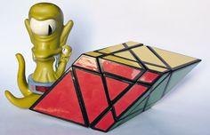 3x3x3 Rhombohedron rubik Romboedro Blade cube Solución Tutorial