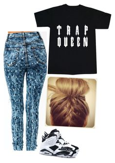 """""""trap queen"""" by justinbiebz94 ❤ liked on Polyvore"""
