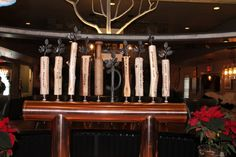 Custom copper draft beer tower. Bar Brewery Pub Resturant www.tappedbeer.com…