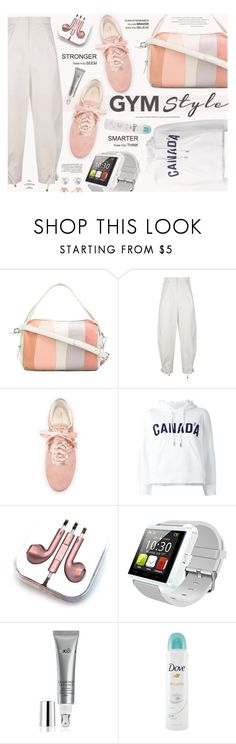 """""""Work It Out: Gym Essentials"""" by katarina-blagojevic on Polyvore featuring 10 Crosby Derek Lam, Kenzo, Cole Haan, Dsquared2, PhunkeeTree, Natura Bissé, Dove and Liz Claiborne"""