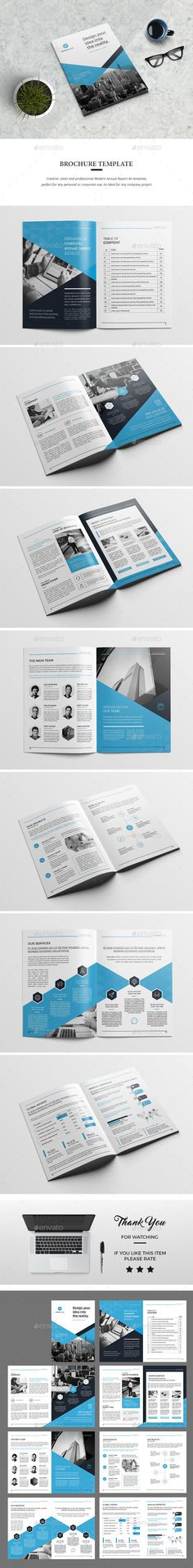 #Brochure 01 - #Corporate Brochures Download here: https://graphicriver.net/item/brochure-01/19226555?ref=alena994