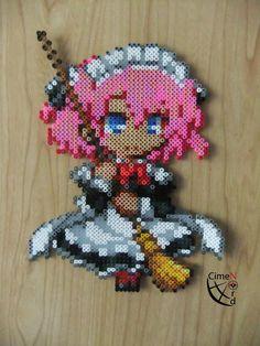 Sachi Grisaia no Kaijitsu Perler Beads by Cimenord on DeviantArt